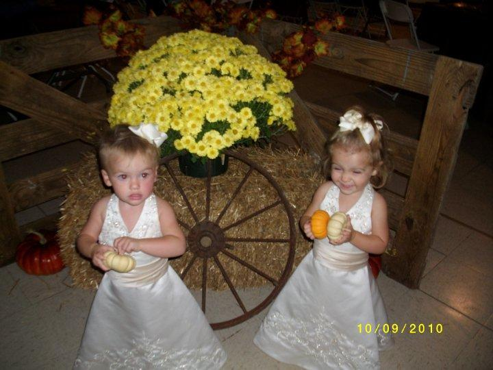 12 month size flower girls