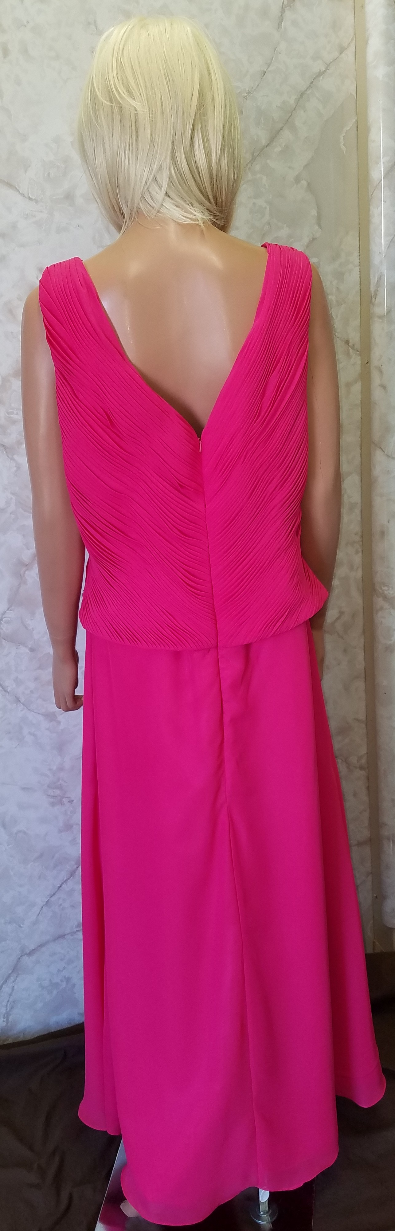 Mother of the Bride Dress Cerise