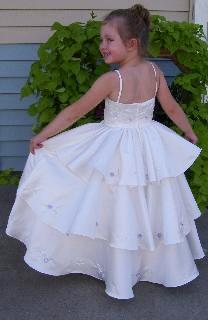 pageant bubble dress