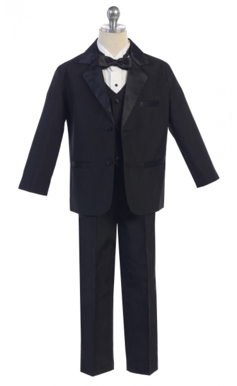 little boys black tuxedo
