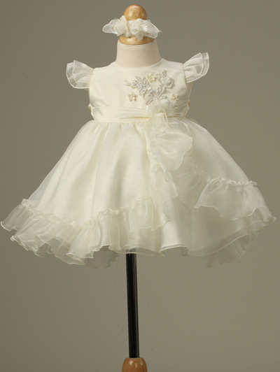 ivory baby girl dress sale