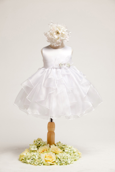 white infant girl dresses