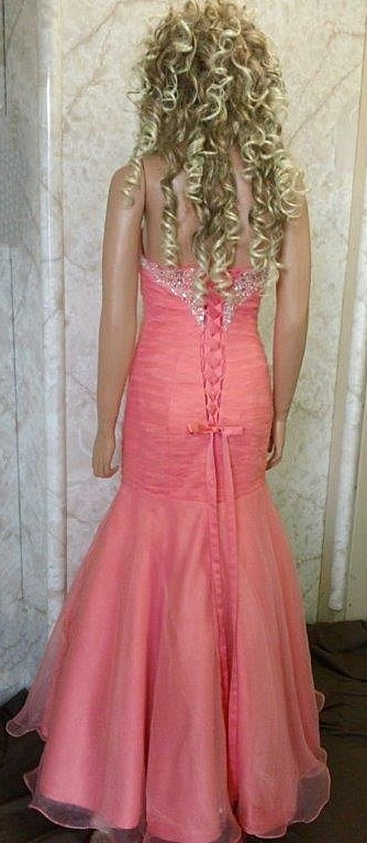 mermaid dresses for prom with corset lace up