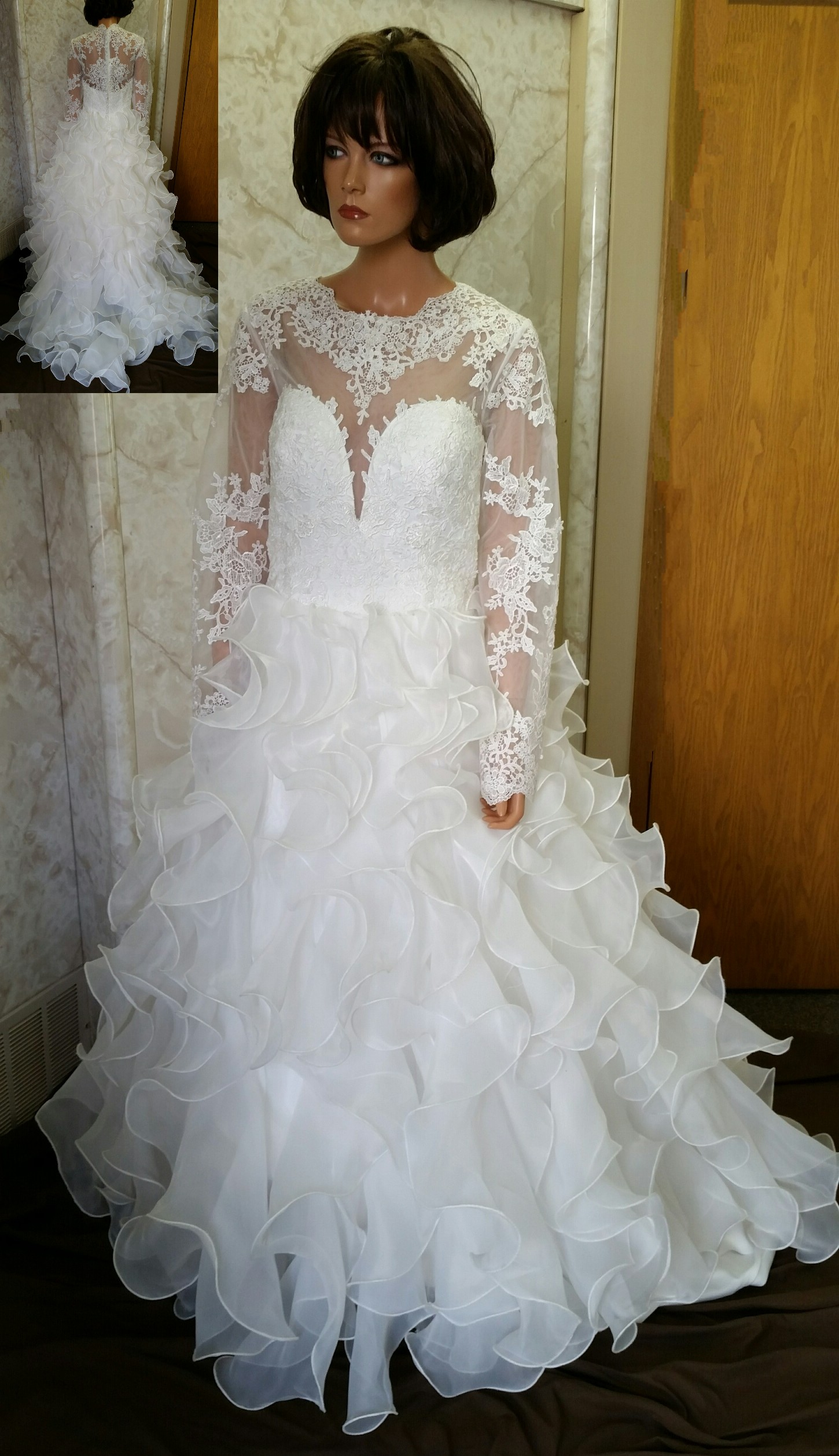 Wedding gowns designed by Brides