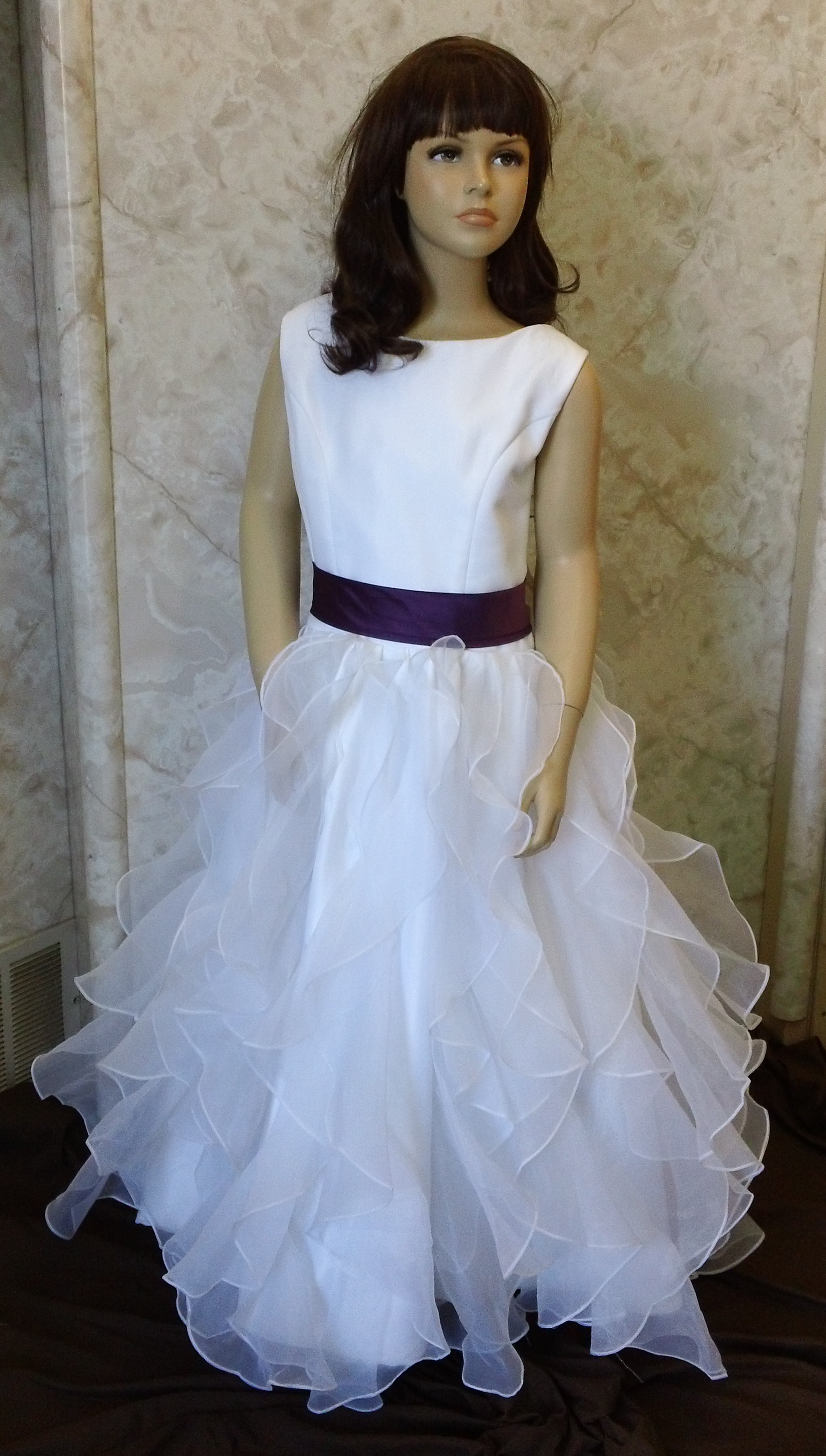 Little Girls Wedding dresses with sash