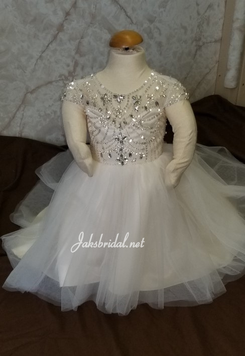 wedding dress for baby girls