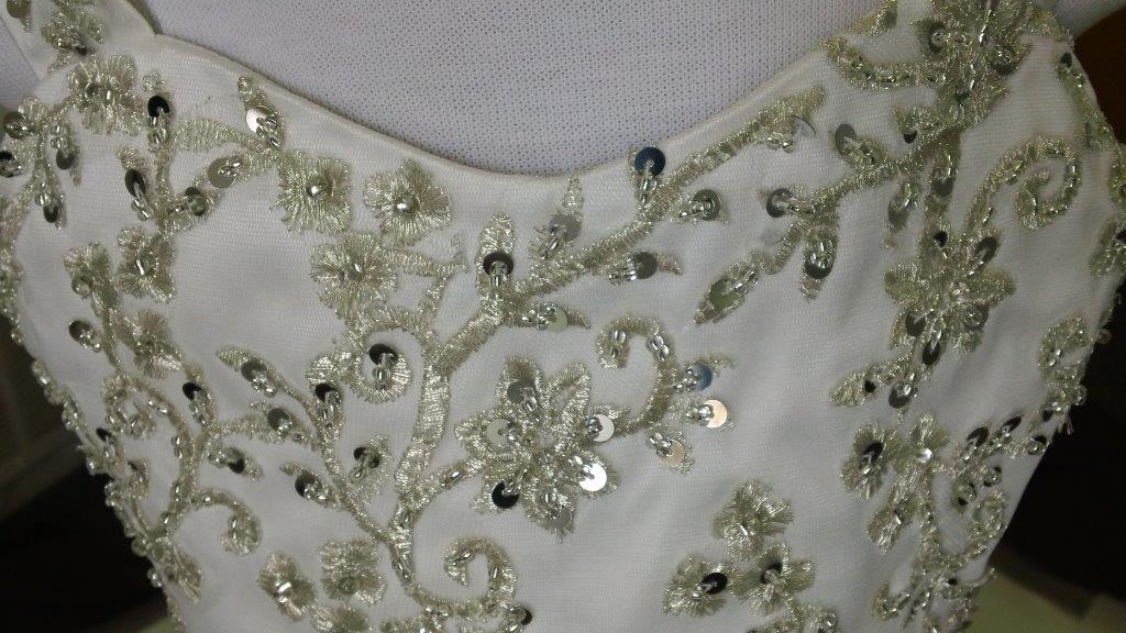 embroidered bodice