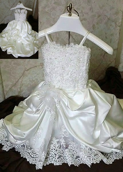 12 month old flower girl dress