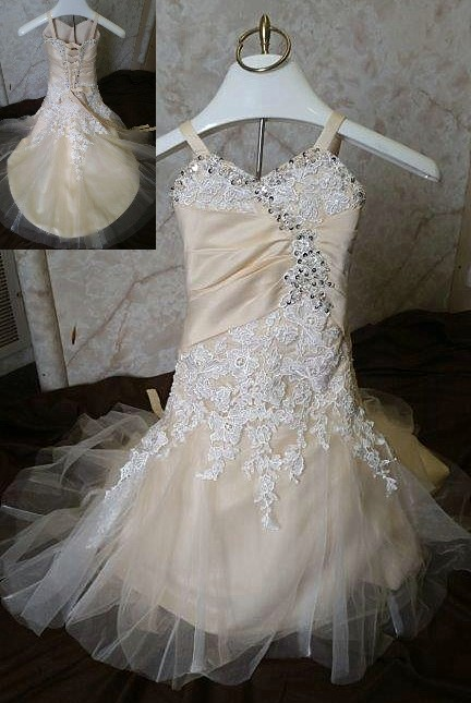 infant wedding gowns