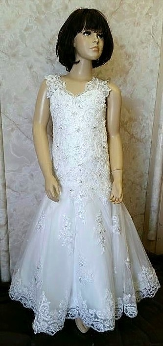 lace miniature wedding dresses