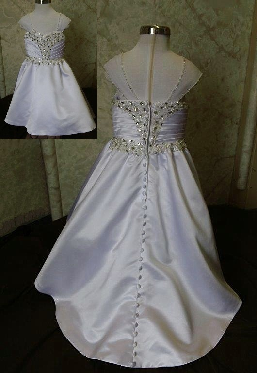 Crystal Wedding dress for flower girls
