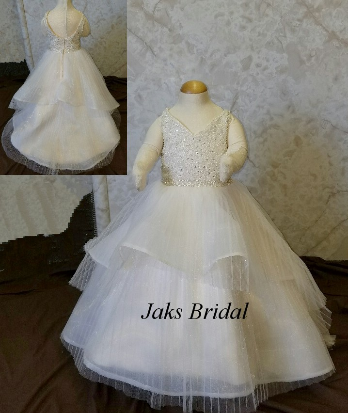 Infant flower girl dresses 3-6 months