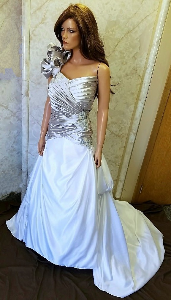 matching bridal gown