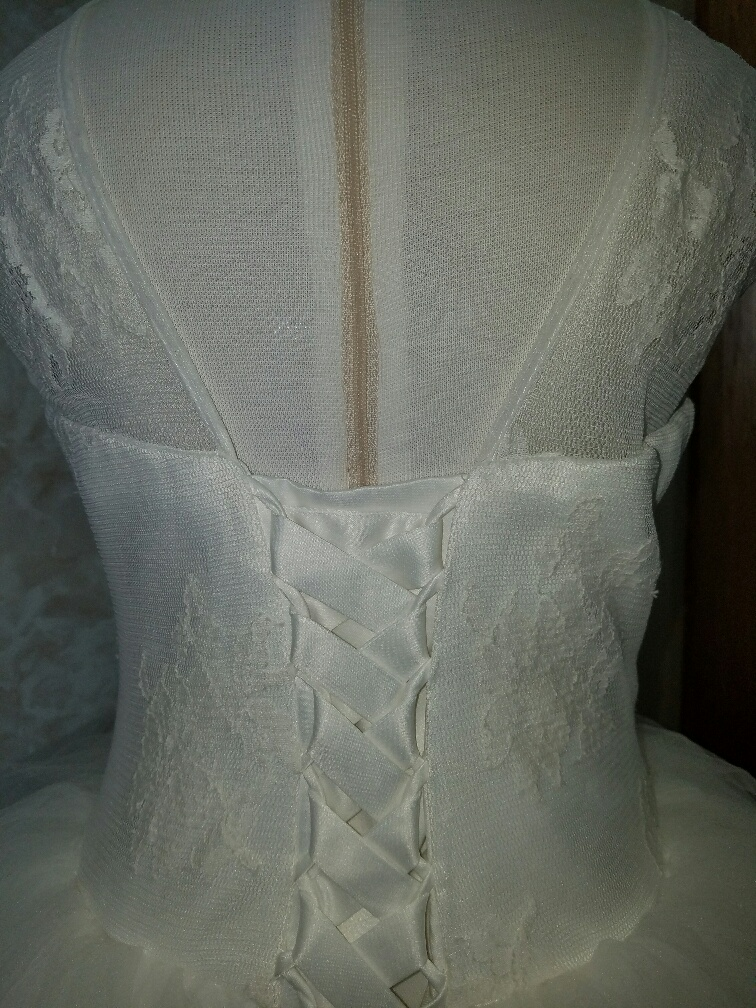 lace illusion neckline