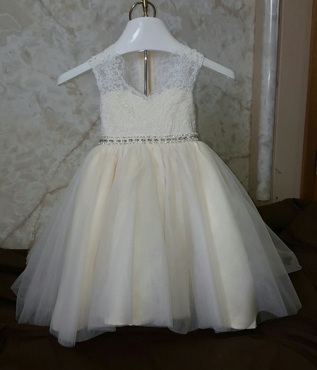 infant wedding dress
