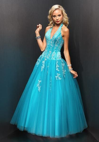 Blue Juniors Halter Dresses
