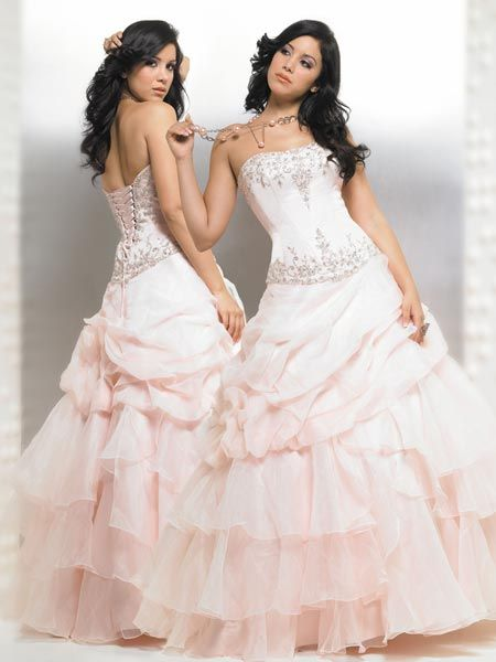 pink Quinceanera Ball gowns