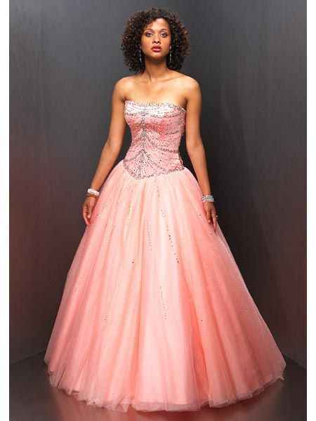 strapless evening dresses