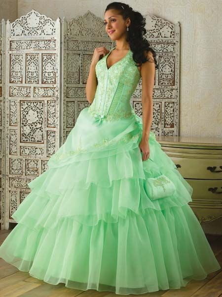 bright quinceanera dresses