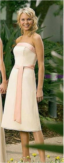 satin sash bridesmaid dresses 100 dollars