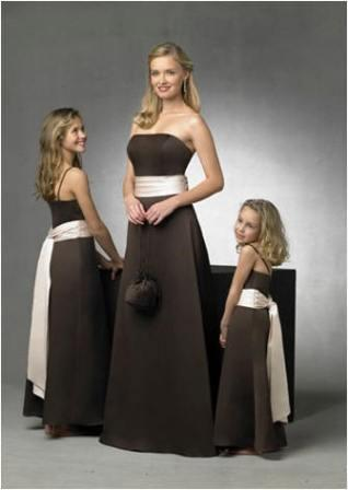 prom dresses chocolate color