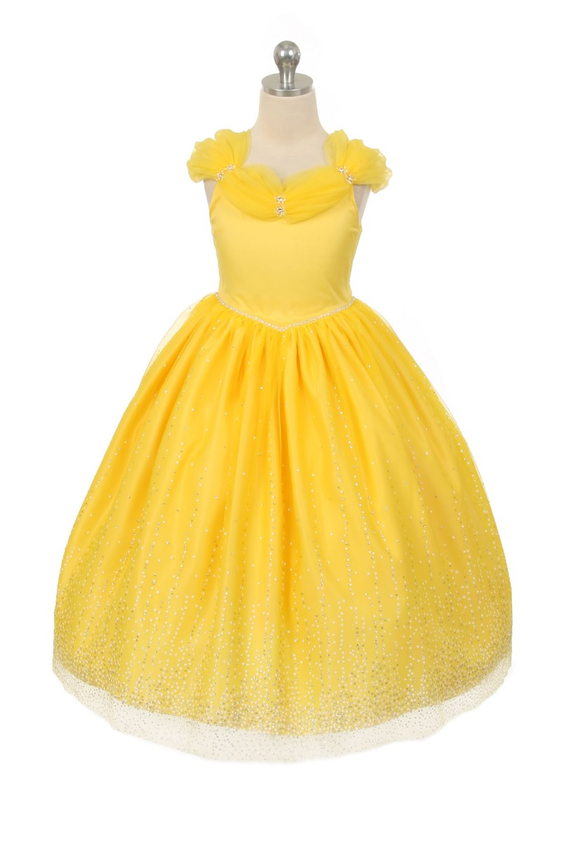 princess style dresses for girls