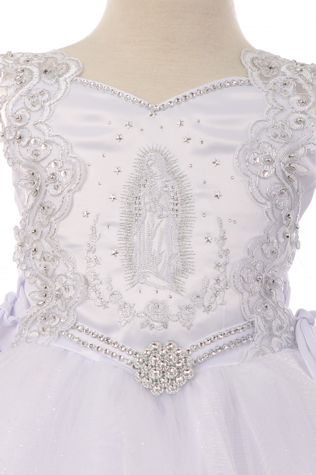 Virgin Mary Baptism Dress