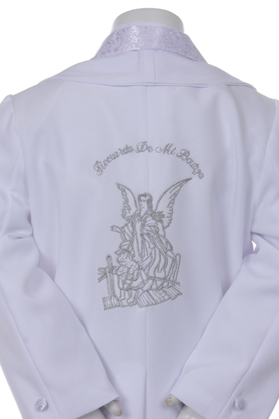 angel embroidered jacket