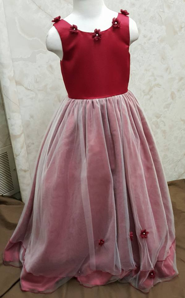 red size 4 dress