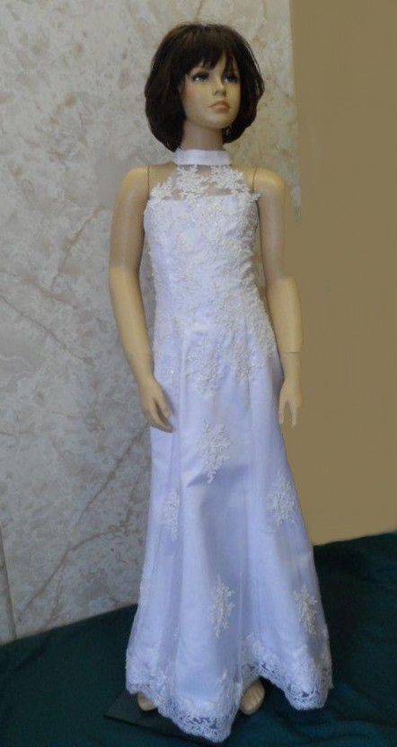 miniature bride dress on sale for $75.00