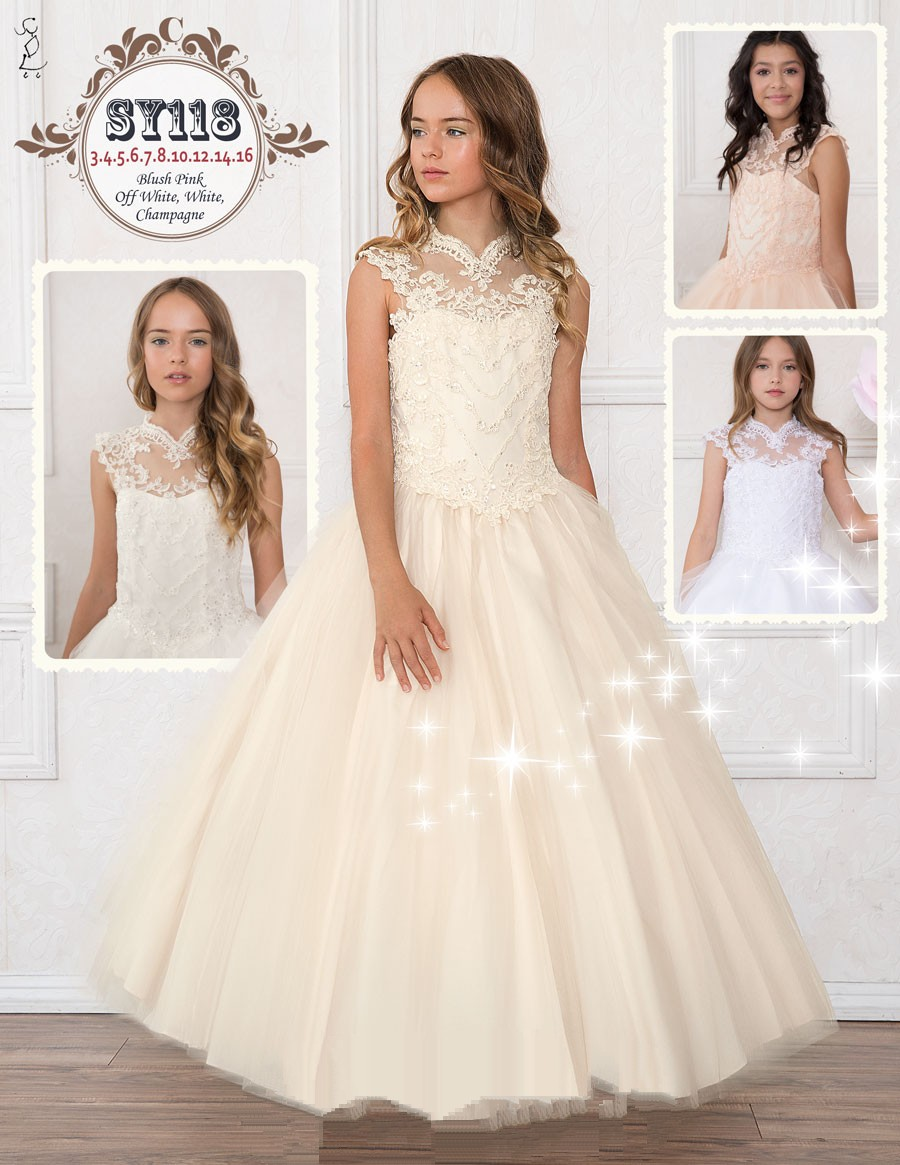 Childrens Dresses And Teenage Flower Girl Dresses