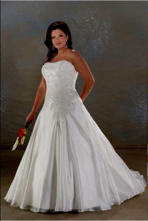 Lovely large bride dresses in custom sizes for Corset for wedding dress plus size