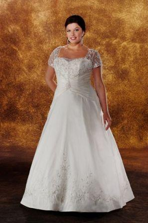 wedding gowns plus size