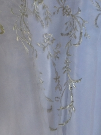 Embroidered Wedding dress for flower girls