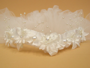 girl's communion veil