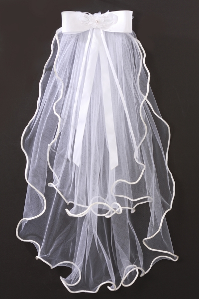 miniature bridal Veils