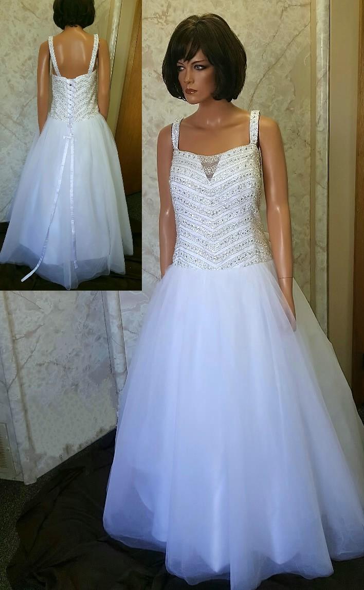 Long wedding reception dresses cheap wedding dresses for Long dress for wedding reception