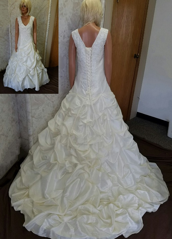 pick up wedding gown