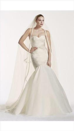 Match my ZP341560 David's Bridal wedding dress