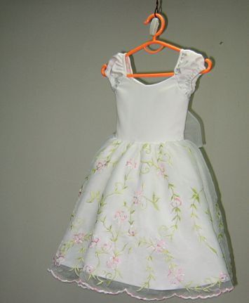 customize flower girl dress