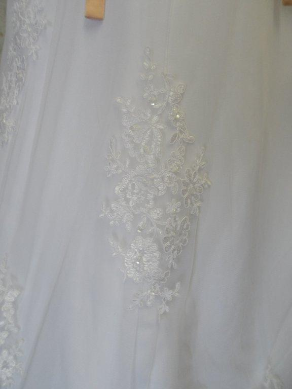 lace bridal dress fabric