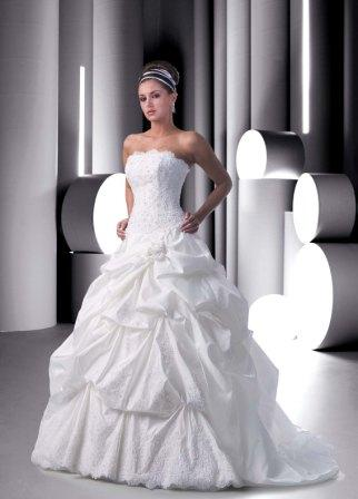 Pick up Ball Gown Wedding Dress