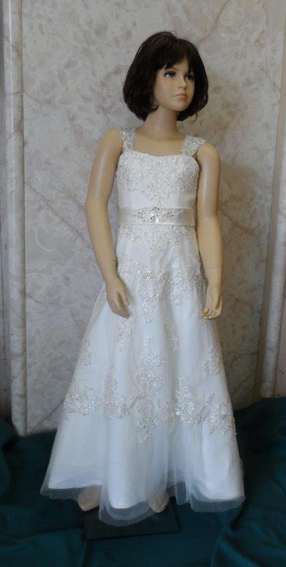 miniature bridal gown