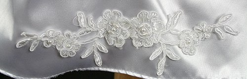 applique on hemline