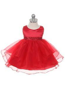 size 3 red dress