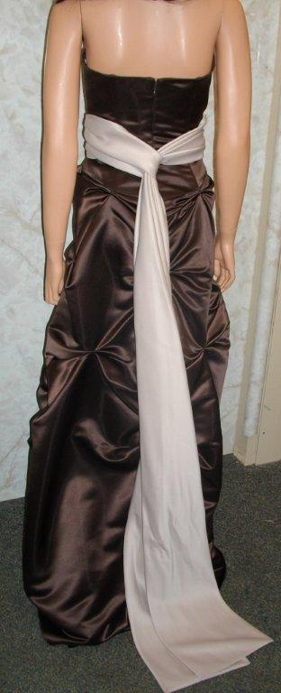 chocolate brown bridesmaid dress
