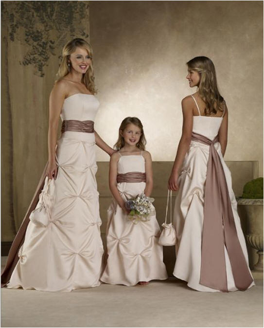 ivory bridesmaid dresses with diamond shaped pick ups