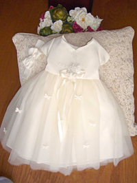 ivory Baby birthday party dress