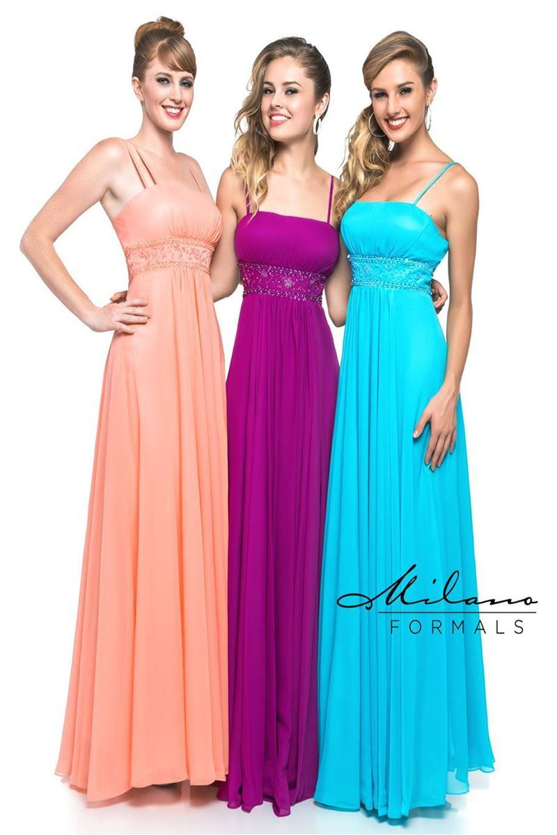 cheap long chiffon bridesmaid dresses