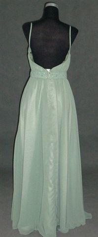 green chiffon mother of the bride dress